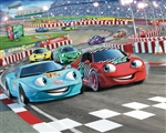 Tapeta 3D Walltastic - Car Racers 2