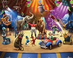 Tapeta 3D Walltastic - The Circus