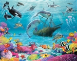 Tapeta 3D Walltastic - Sea Adventure