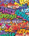 Tapeta 3D Walltastic -  Graffiti